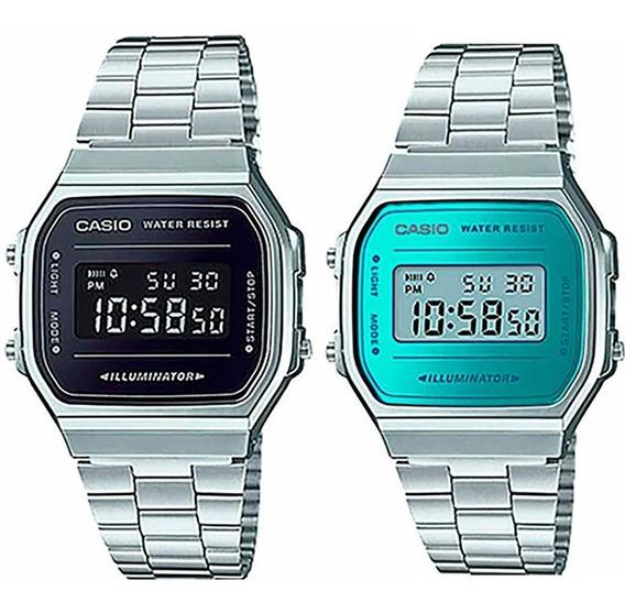 Pareja De Relojes Casio Vintage Originales Time Square