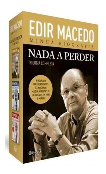 Edir Macedo Minha Biografia Nada A Perder Trilogia Completa