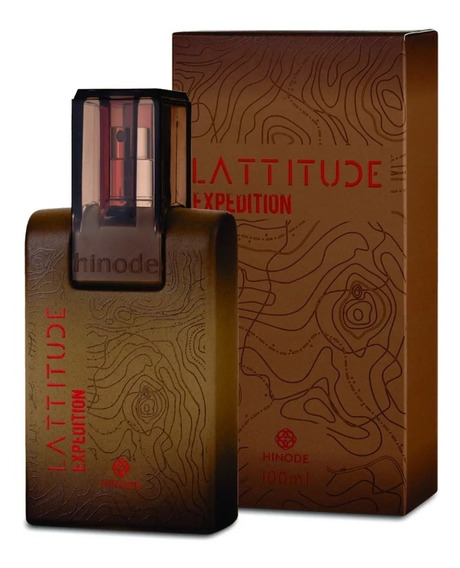 Perfume Latitude Expedition 100ml Hinode Frete Gratis !!