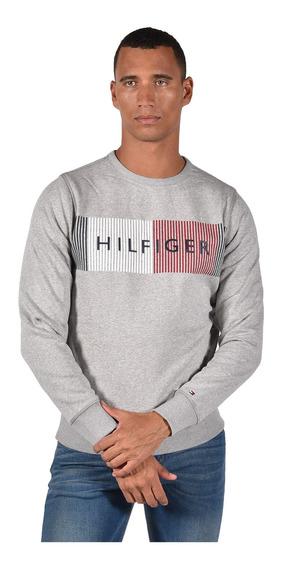 Suéter - Tommy Hilfiger - Mw0mw10753-501 - Gris Hombre