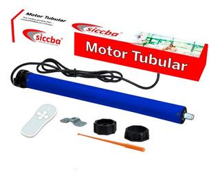 Motor Tubular Con Control Remoto Para Persiana Hasta 100 Kg
