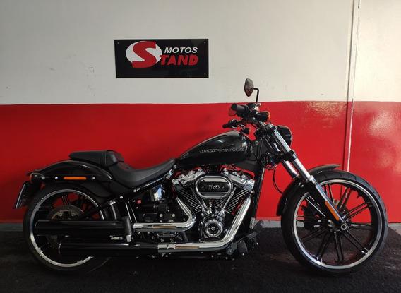 Harley Davidson Softail Breakout 114 Abs 2018 Preta Preto