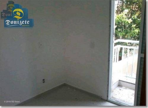 Cobertura Com 2 Dormitórios À Venda, 81 M² Por R$ 250.000,00 - Vila Pires - Santo André/sp - Co1524