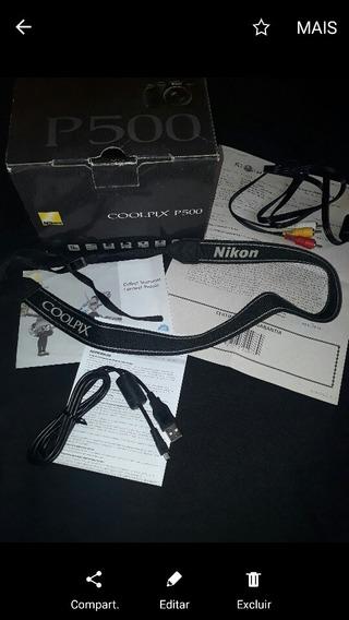 Assessórios Da Câmera Fotográfica Nikon Coolpix P500