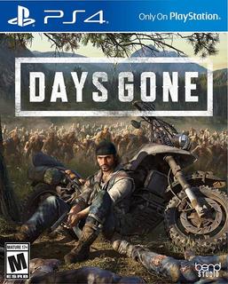 Days Gone Ps4 - En Stock - Físico - Sellado - Nextgames