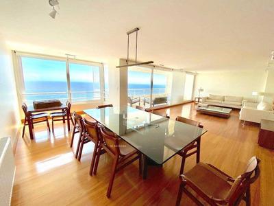 Venta O Arriendo Año Corrido, Espectacular Penthouse De 407 M2 Totales, Increíble Vista Al Mar, Reñaca Norte