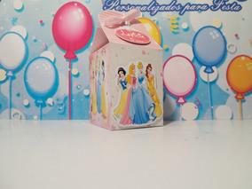 Caixa Milk Personalizado Princesas Disney 20un