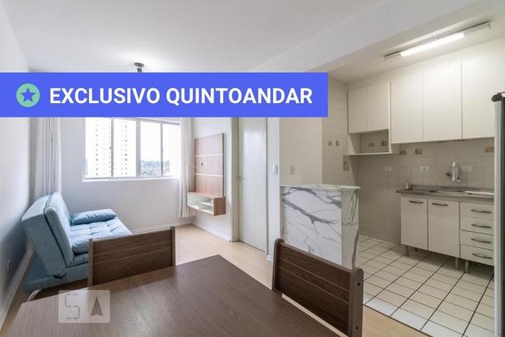 Apartamento No 8º Andar Mobiliado Com 1 Dormitório - Id: 892945457 - 245457