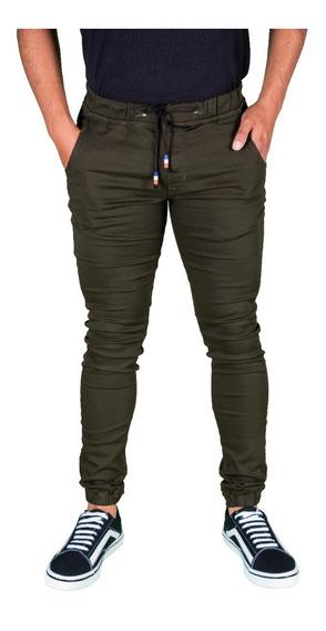 Pantalón Jogger Skinny Para Hombre Descuento