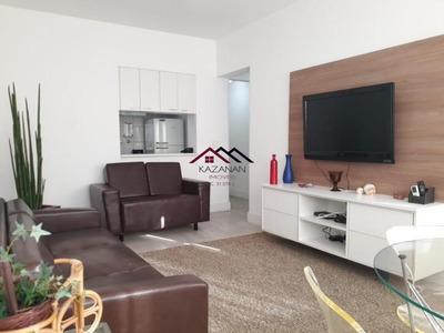 Flat Em Santos/sp, 02 Dorms, Serviços E Lazer! Mobiliado! - 2105