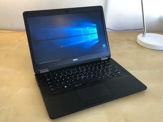 Notebook Dell Latitude E7470 I5-6300u - 2,4ghz - Ssd 256gb