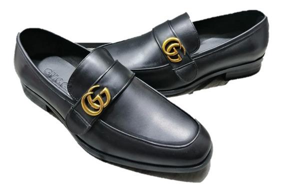Zapatos Gucci Black Hebilla Envio Gratis