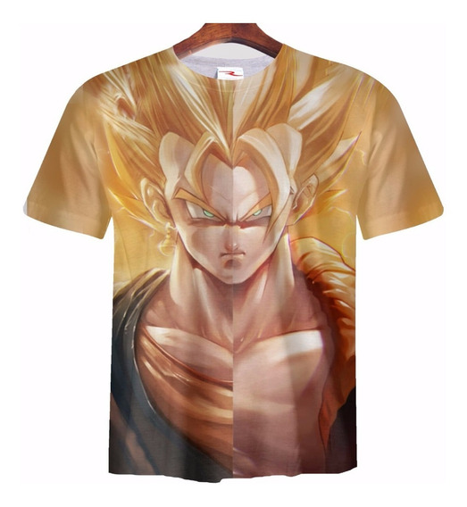 Remera Dragon Ball Vegito Goku Vegeta Ranwey Pr174