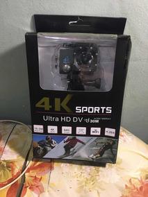 Camera 4k Wi-fi Mais Cartão 8gb