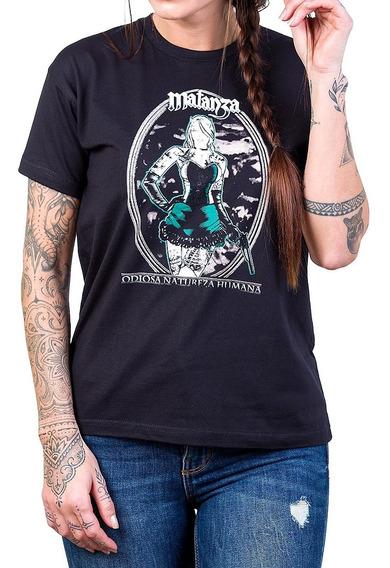 Camiseta Matanza Odiosa Natureza Humana Bandalheira