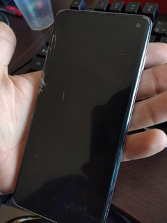Celular Samsung Galaxy S10 Dual Sim 128gb - Tela Quebrada