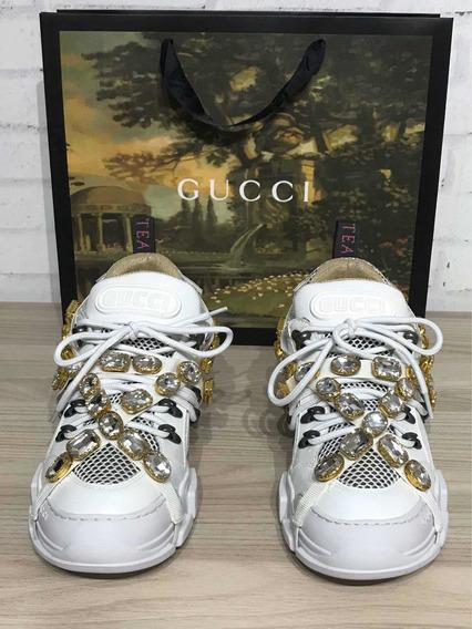 Tênis Gucci Brilhos