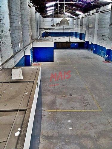 Imagem 1 de 11 de Galpão Para Alugar, 800 M² - Macuco - Santos/sp - Ga0013
