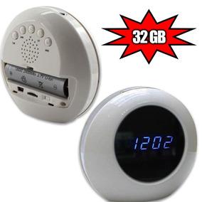 Camera Relogio Espiao Gadgets Espionagem De Seguranca 32gb
