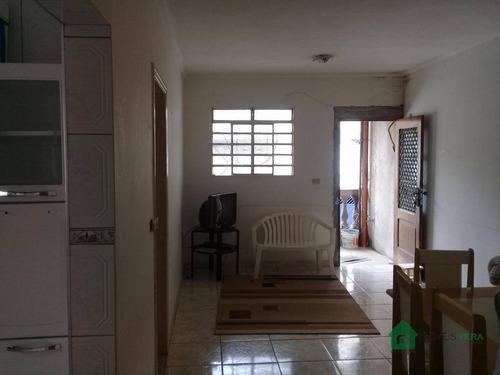 Imagem 1 de 8 de Casa Com 1 Dormitório Para Alugar, 50 M² Por R$ 900/mês - Jardim São Mateus - Taboão Da Serra/sp. Confira! - Ca0292