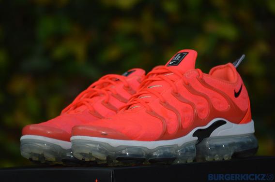 Nike Air Vapormax Plus overbranding Bright Crimson 10.5