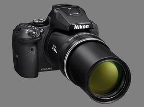 Câmera Nikon Coolpix P900 16.1mp, Zoom 83x, Nnnn