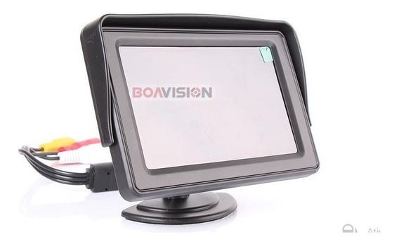Borescope Video Câmera Lcd Monitor Colorido Inspeção 10m