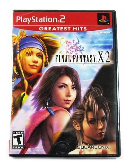 Final Fantasy X-2 Original Novo Lacrado Ps2 Frete Grátis! X2