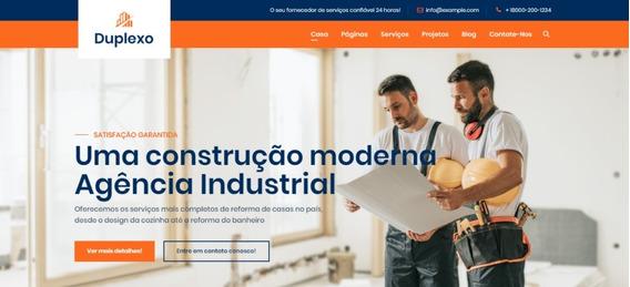 Site Wordpress Para Construção Civil Na Paraíba