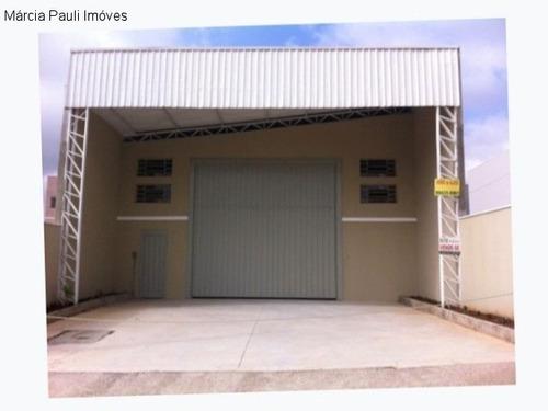 Imagem 1 de 8 de Galpao Excelente Localização Ermida Ii Jundiai Sp - Gl00132 - 69586633