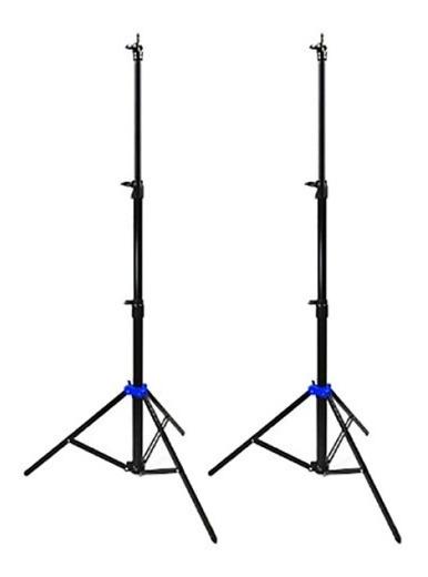 2 Tripie Lightstand Dropstand Automatico 2.10cm Iluminacion