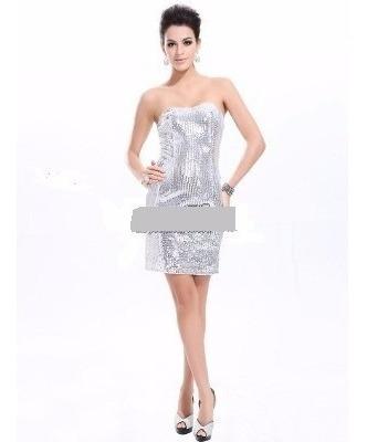 Vestido Corto Strapless 3xl Y Xl