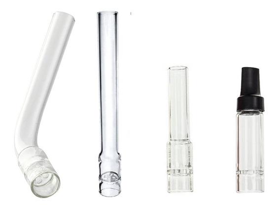 Kit 2 Tubos Vidro Reto Arizer Solo Gratis Frete + Tela Inox