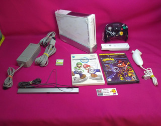 Consola Nintendo Wii Con Consola Gamecube Integrada 2 En 1