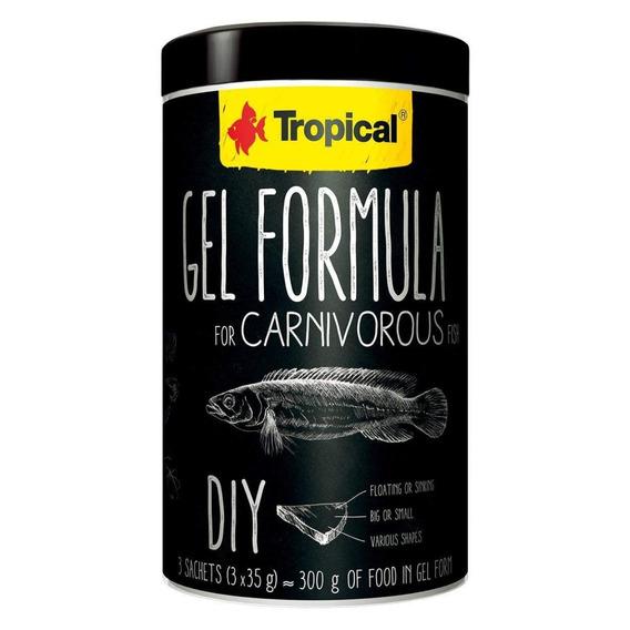 Ração Tropical Fórmula Em Gel Para Carnívoros - 105g