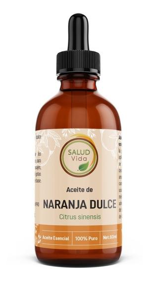 Aceite Esencial De Naranja 100% Puro 60ml
