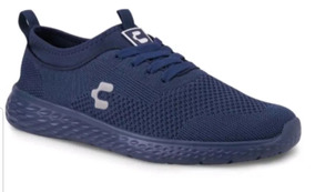 Tenis Charly Running Color Azul Marino Para Hombre 2673905