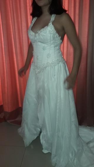 Vestido De Novia Usado Alta Costura