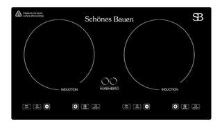 Parrilla eléctrica Schönes Bauen Nuremberg negro 110V