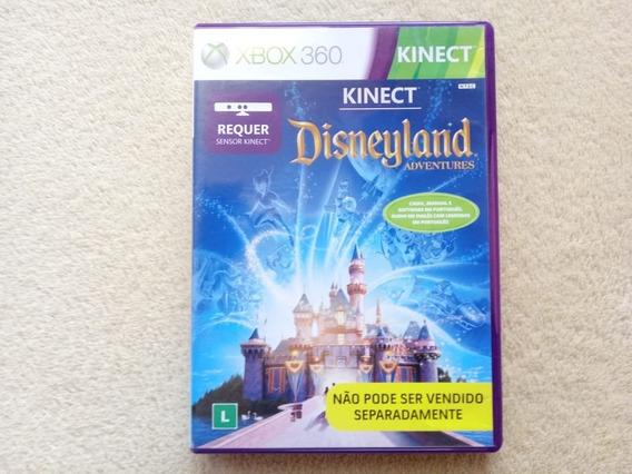 Jogo Kinect Disneyland Adventure Xbox 360 Original