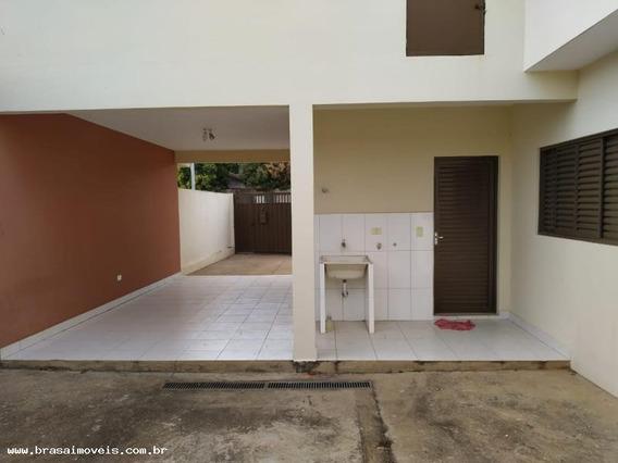 Casa Para Locação Em Presidente Prudente, Residencial Daiane (montalvão), 3 Dormitórios, 2 Banheiros, 2 Vagas - 00522.001