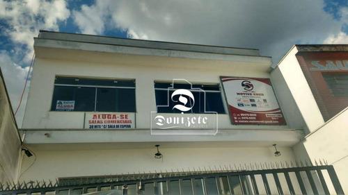 Sala Para Alugar, 30 M² Por R$ 770,00/mês - Vila Lucinda - Santo André/sp - Sa0673