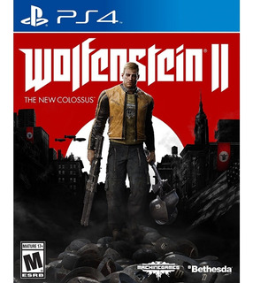 Wolfenstein Ii The New Colossus Playstation 4