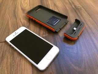 iPhone 5 Movistar Con Funda-bateria Mophie