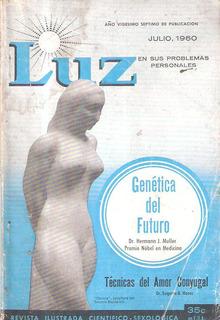 Luz Vol 8 Nº 7 - Curiosidades Sexuales. Julio 1960