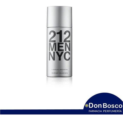 Carolina Herrera 212 Ny Men Desodorante 150 Ml