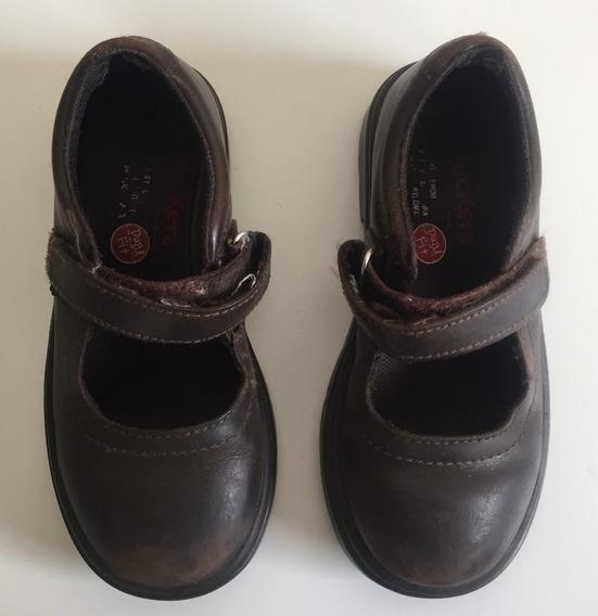 Zapatos Nena Kickers Guillermina Escolares School Dual Fit