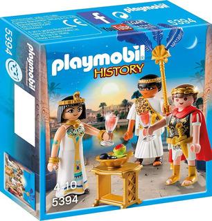 Playmobil 5394 History César Y Cleopatra En Stock