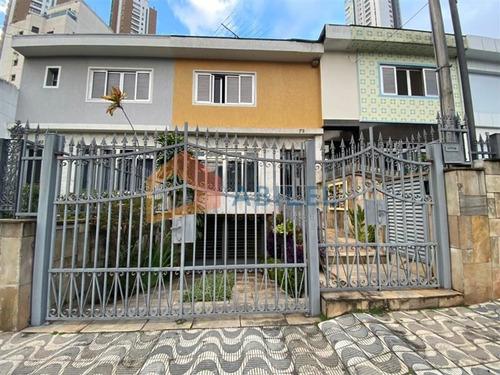 Imagem 1 de 30 de Sobrado Jardim Anália Franco - 7744