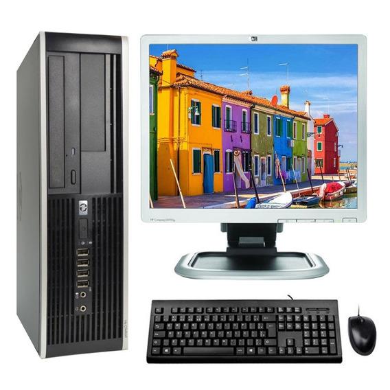 Kit Cpu Hp Elite 8100 I3 4gb 500gb Dvd Wifi + Monitor 17